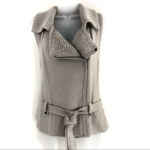 Ann Taylor LOFT Merino Wool Blend Sweater Vest